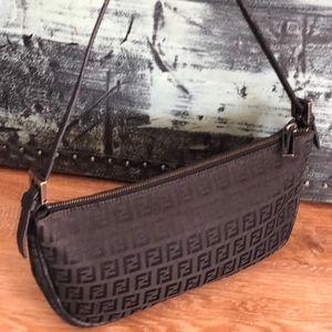 Authentic Fendi Vintage Baguette Pochette Bag